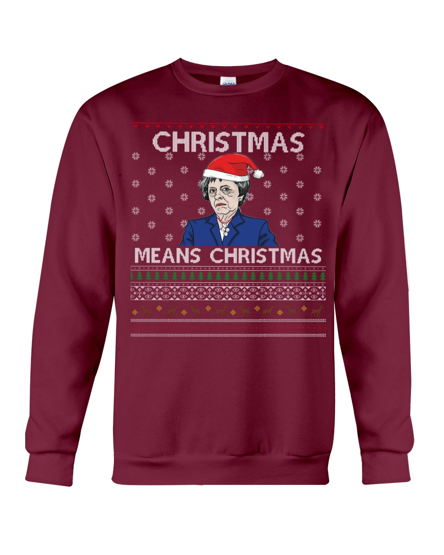 Limited Edition Christmas Means Christmas Crewneck Sweatshirt