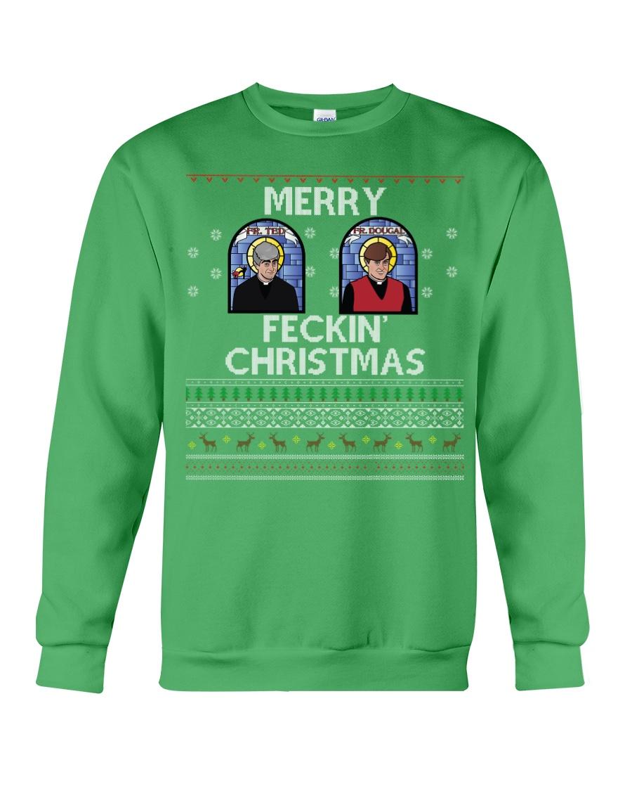 Limited Edition Merry Feckin' Christmas Crewneck Sweatshirt