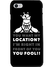HERE'S MY LOCATION-HOODIE TSHIRT PHONE CASE MUGS Phone Case thumbnail