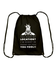 HERE'S MY LOCATION-HOODIE TSHIRT PHONE CASE MUGS Drawstring Bag thumbnail