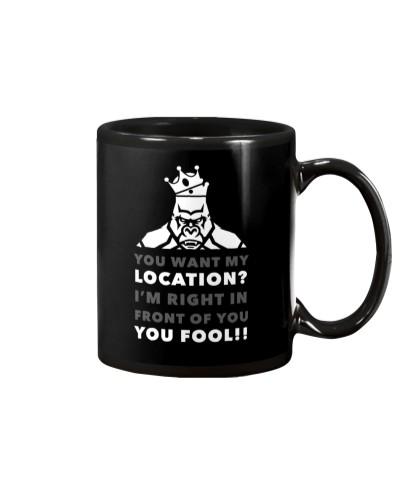 HERE'S MY LOCATION-HOODIE TSHIRT PHONE CASE MUGS