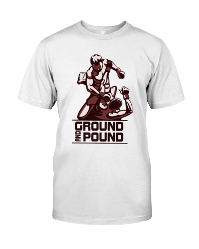 Ground and Pound-Hoodie Tshirt phone Case