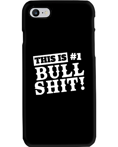 No 1 Bullshit Phone Case Tshirt Mugs