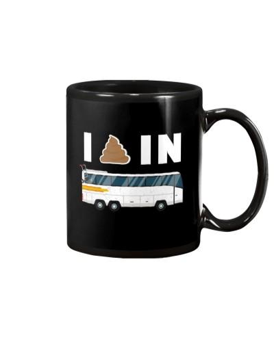 I Shit In Bus-Hoodie  Tshirts Mugs Bags