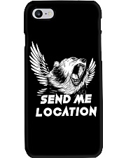 SEND ME LOCATION- Tshirt Hoodie Phone Case Phone Case tile