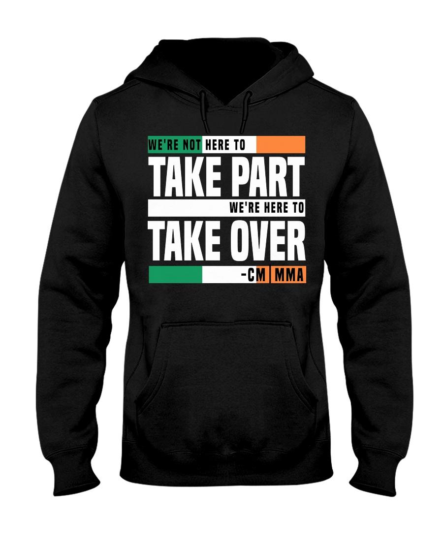 Here to Take Over-Hoodie Tshirt Mugs Phone Casr Hooded Sweatshirt