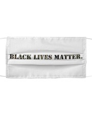 Black Lives Matter Camouflage Set Cloth face mask front