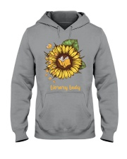 library lady Hooded Sweatshirt thumbnail