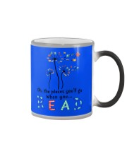 Oh the places you'll go when you read Color Changing Mug thumbnail