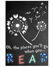 Oh the places you'll go when you read 11x17 Poster thumbnail