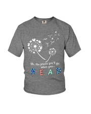 Oh the places you'll go when you read Youth T-Shirt thumbnail