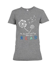 Oh the places you'll go when you read Premium Fit Ladies Tee thumbnail