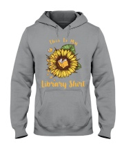 This is my library shirt Hooded Sweatshirt thumbnail