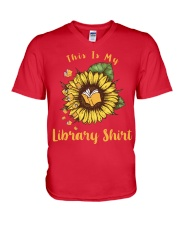 This is my library shirt V-Neck T-Shirt thumbnail
