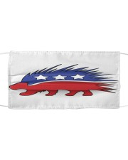 Libertarian Porcupine Cloth face mask thumbnail