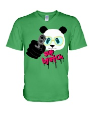 Cool Panda V-Neck T-Shirt thumbnail
