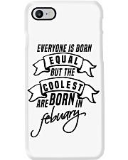 Born In Febuary Phone Case thumbnail