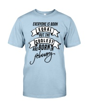 Born In Febuary Classic T-Shirt front