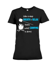 Thats What Camping is About Premium Fit Ladies Tee thumbnail