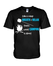 Thats What Camping is About V-Neck T-Shirt thumbnail