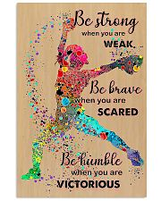 Softball Be Strong 11x17 Poster front