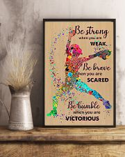 Softball Be Strong 11x17 Poster lifestyle-poster-3