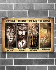 God Save Me Unframed  17x11 Poster poster-landscape-17x11-lifestyle-18
