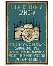 Camera Life Is Like 11x17 Poster front