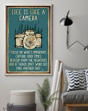Camera Life Is Like 11x17 Poster lifestyle-poster-1