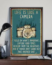 Camera Life Is Like 11x17 Poster lifestyle-poster-2