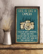 Camera Life Is Like 11x17 Poster lifestyle-poster-3