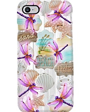 Dragonfly - Sand Beach Relax Phone Case i-phone-8-case