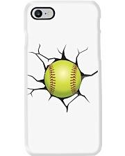 Softball Crack v2 Phone Case i-phone-8-case