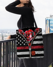 Back The Red Roses All-over Tote aos-all-over-tote-lifestyle-front-05