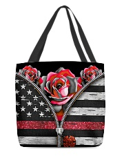 Back The Red Roses All-over Tote back