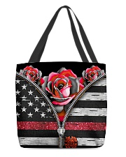 Back The Red Roses All-over Tote front