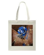 Blue Rose Back The Blue Tote Bag tile