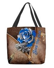 Blue Rose Back The Blue All-over Tote back