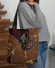 Scuba Leather All-over Tote aos-all-over-tote-lifestyle-front-09