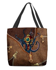 Scuba Leather All-over Tote back