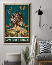 Hairdresser Love Is In The Hair 11x17 Poster lifestyle-poster-1