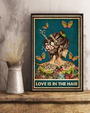 Hairdresser Love Is In The Hair 11x17 Poster lifestyle-poster-3