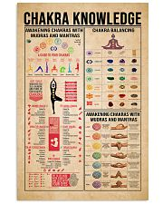 Chakra Knowledge 11x17 Poster front