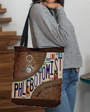 PHLEBOTOMIST bag All-over Tote aos-all-over-tote-lifestyle-front-09