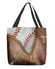 Baseball All-over Tote front
