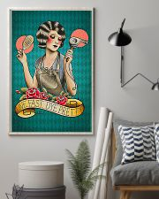 Hairdresser Live Fast Dye Pretty 11x17 Poster lifestyle-poster-1