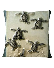Turtles And The Sea 2 Square Pillowcase tile