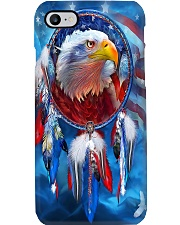 Native American Eagle Phone Case i-phone-8-case