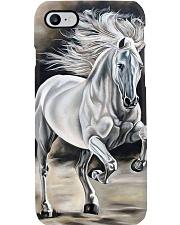 Horse Girl White Phone Case i-phone-8-case