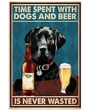 Labrador Beer Never Wasted 11x17 Poster front